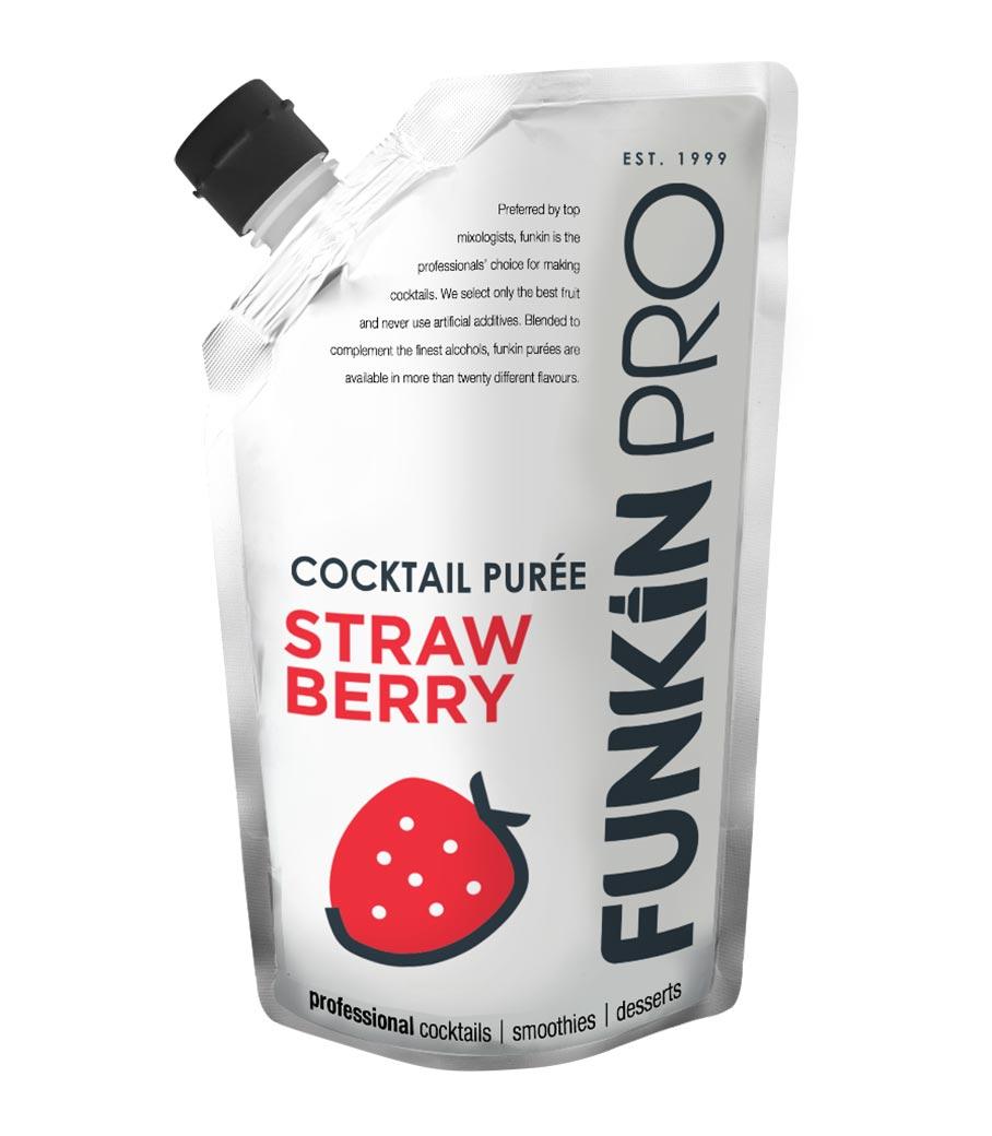 FUNKIN STRAWBERRY (ΦΡΑΟΥΛΑ) PUREE 1kg