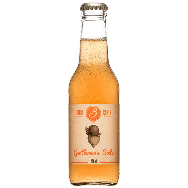 THREE CENTS GENTLEMANS SODA 200ml