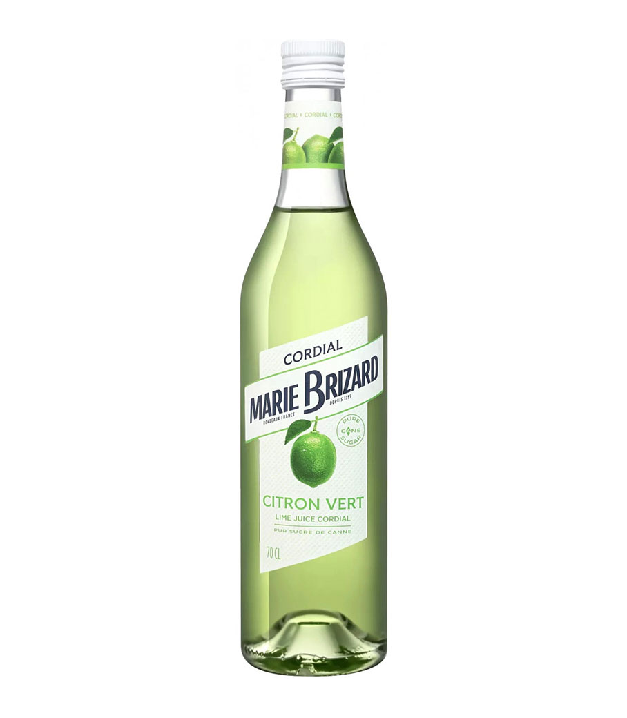 MARIE BRIZARD CITRON VERT (LIME JUICE CORDIAL) SYRUP 700ml