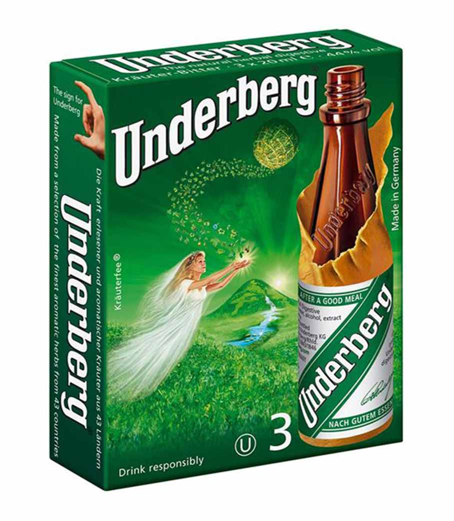 UNDERBERG 3 PACK 20ml