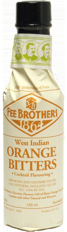 FEE BROTHERS ORANGE  BITTERS 150ml