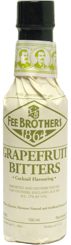 FEE BROTHERS GRAPEFRUIT BITTERS 150ml