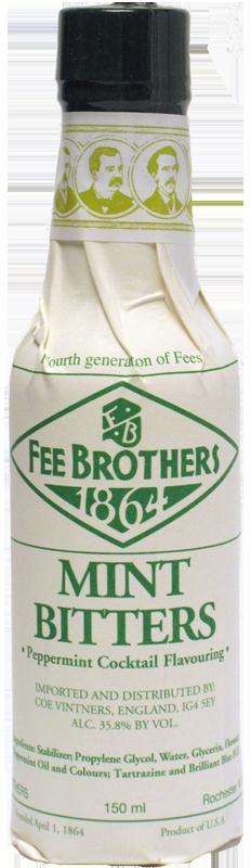 FEE BROTHERS MINT BITTERS 150ml
