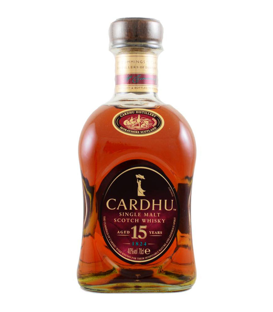 CARDHU 15 YEARS 700 ml