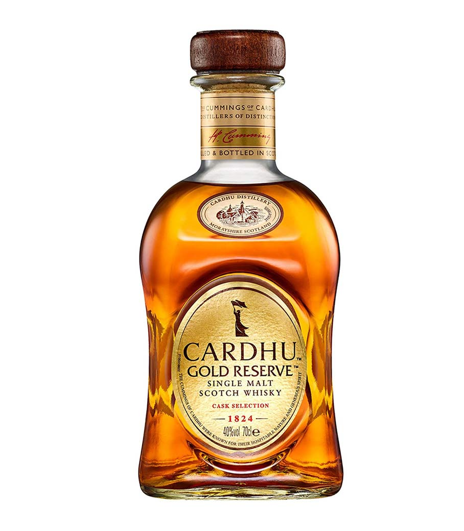 CARDHU GOLD RESERVE WHISKY 700ml