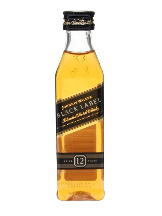 JOHNNIE WALKER BLACK 50 ml