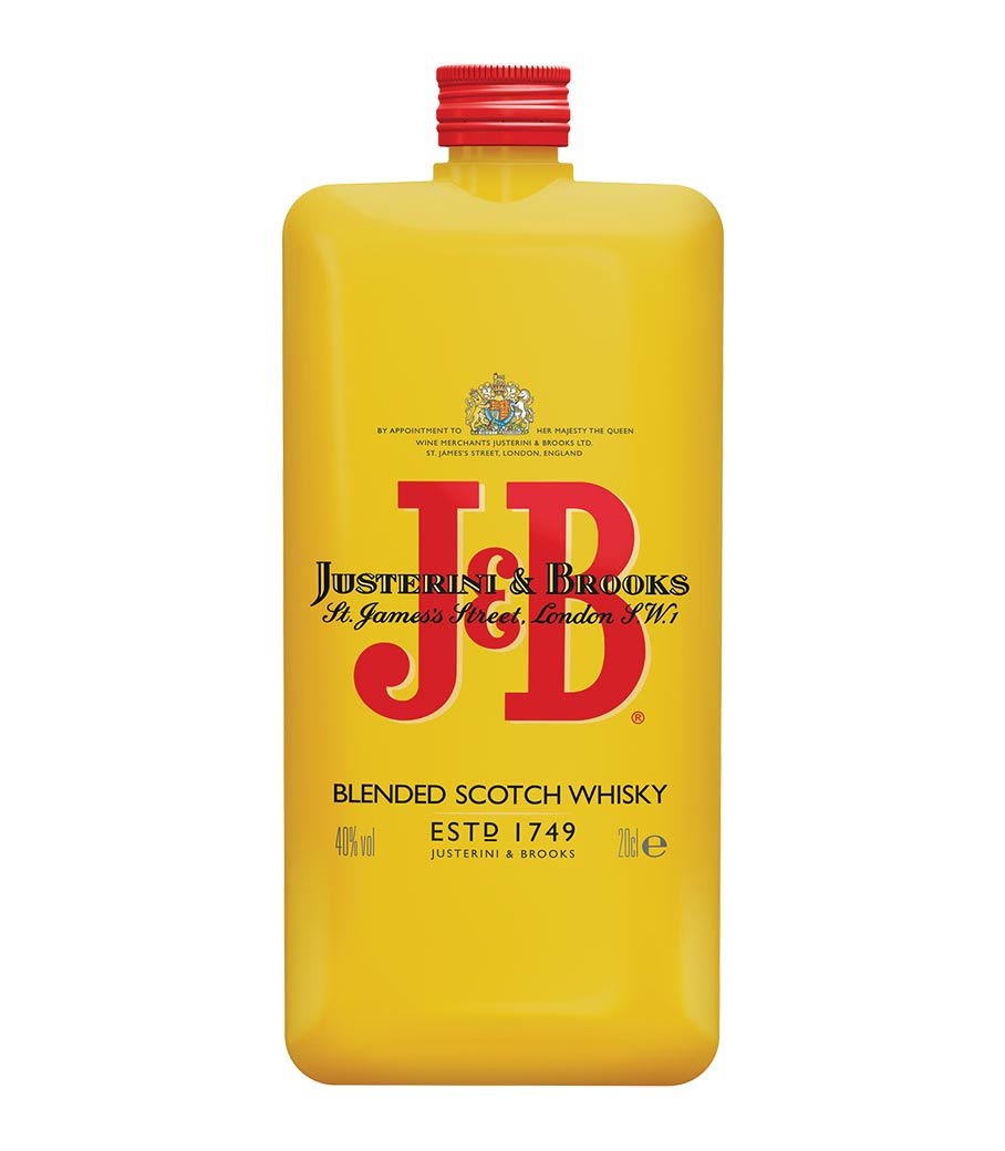 J & B POCKET SCOTCH 200ml