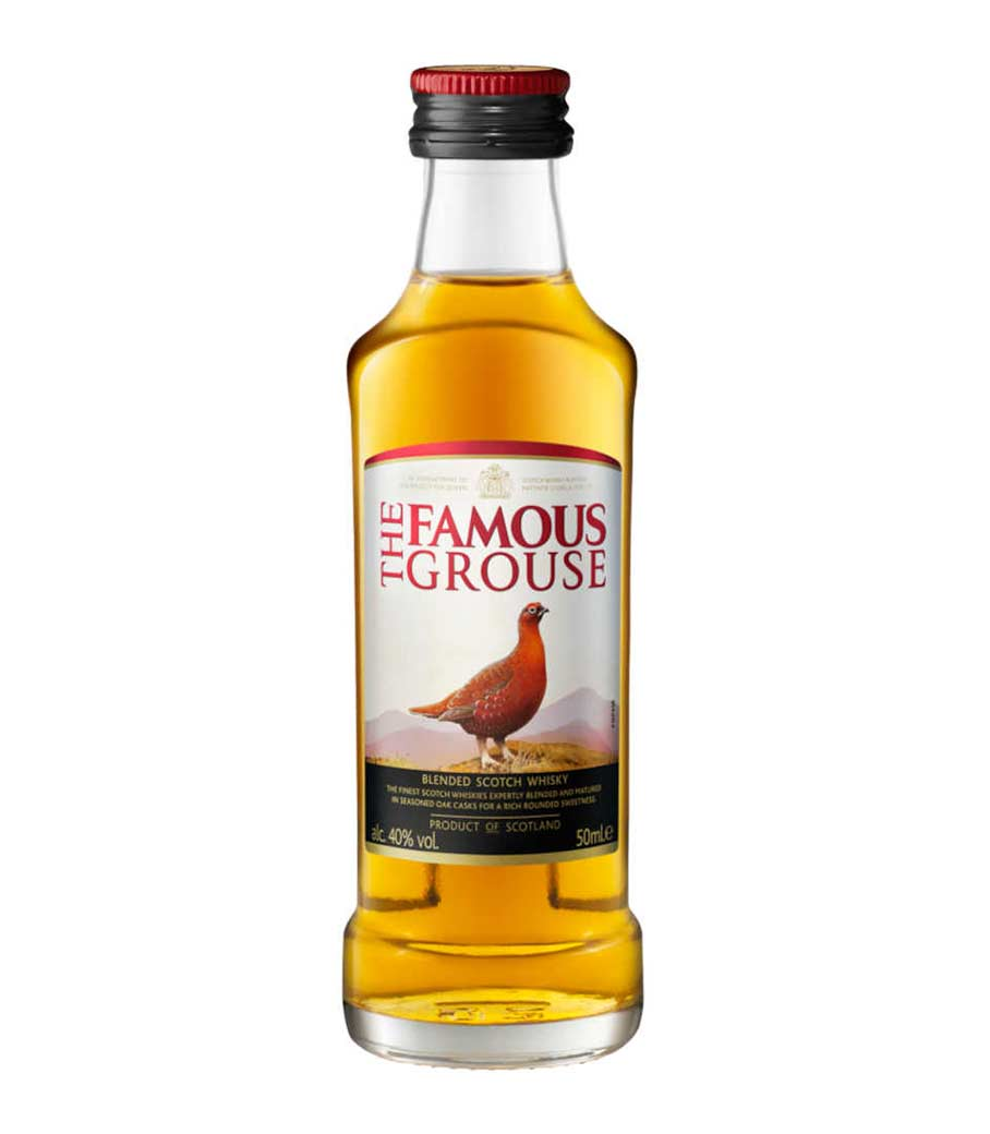 FAMOUS GROUSE WHISKY ΜΙΝΙΑΤΟΥΡΑ 50ml