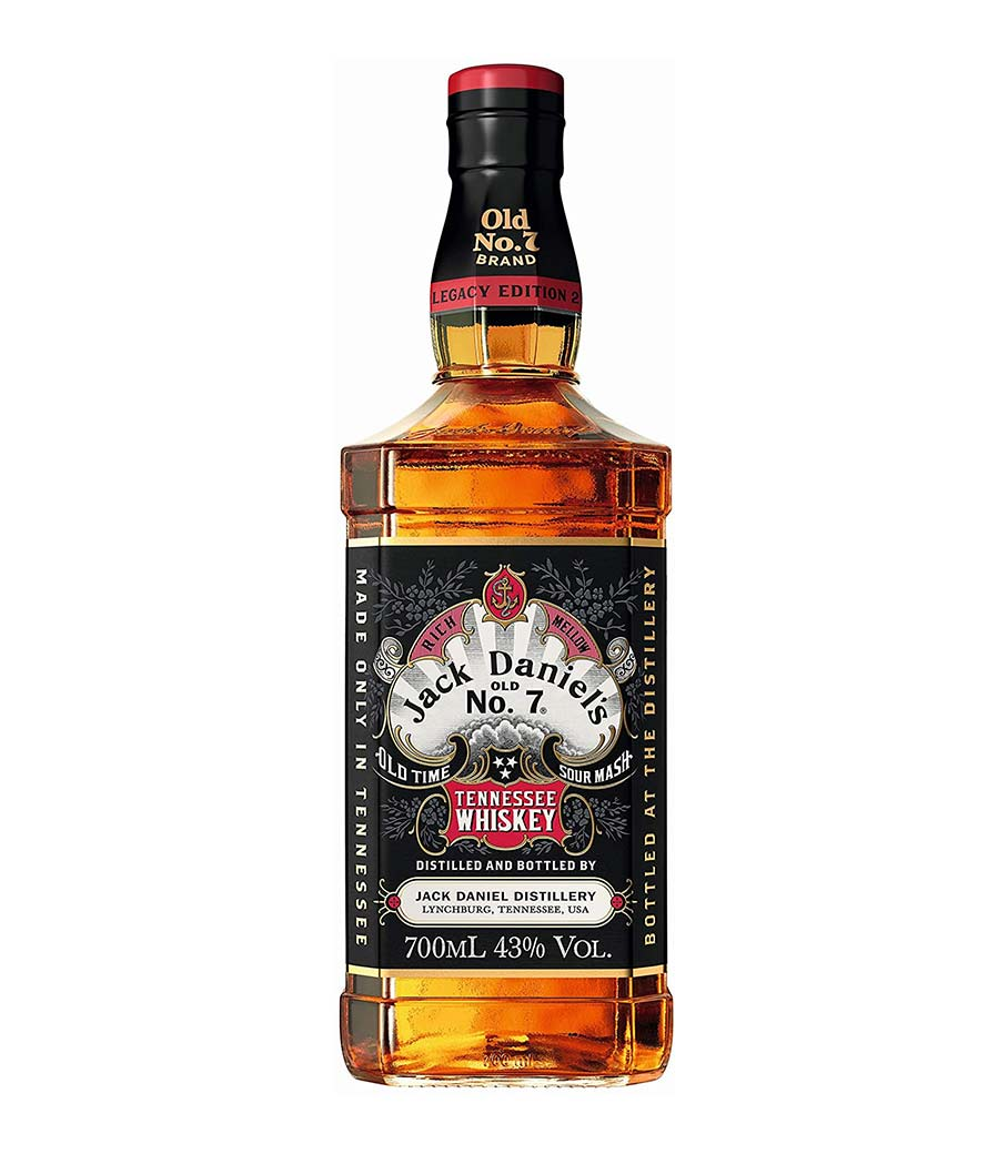 JACK DANIEL'S LEGACY SECOND EDITION WHISKEY 700ml
