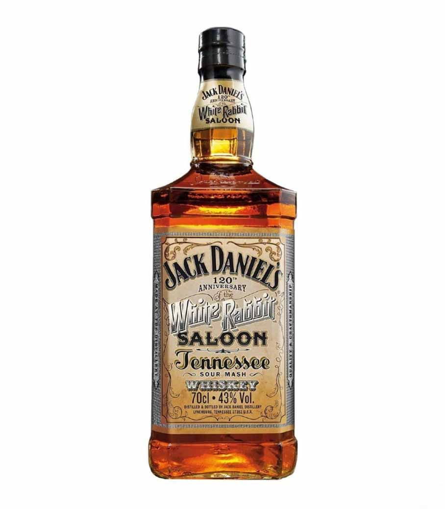 JACK DANIEL'S WHITE RABBIT SALOON WHISKEY 700ml