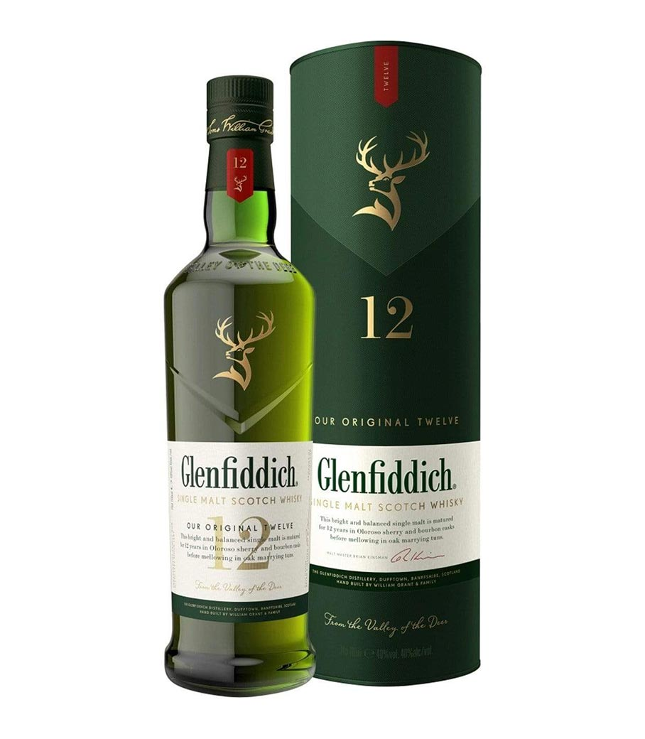GLENFIDDICH 12Y WHISKY 700ml