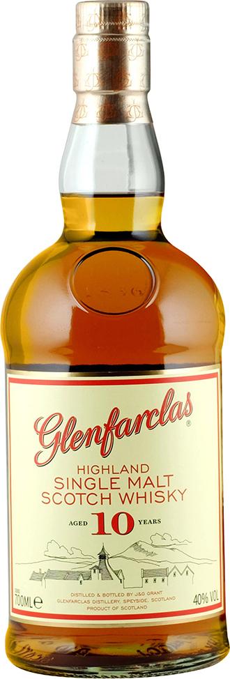 GLENFARCLAS SINGLE MALT 10 YEARS 700ml
