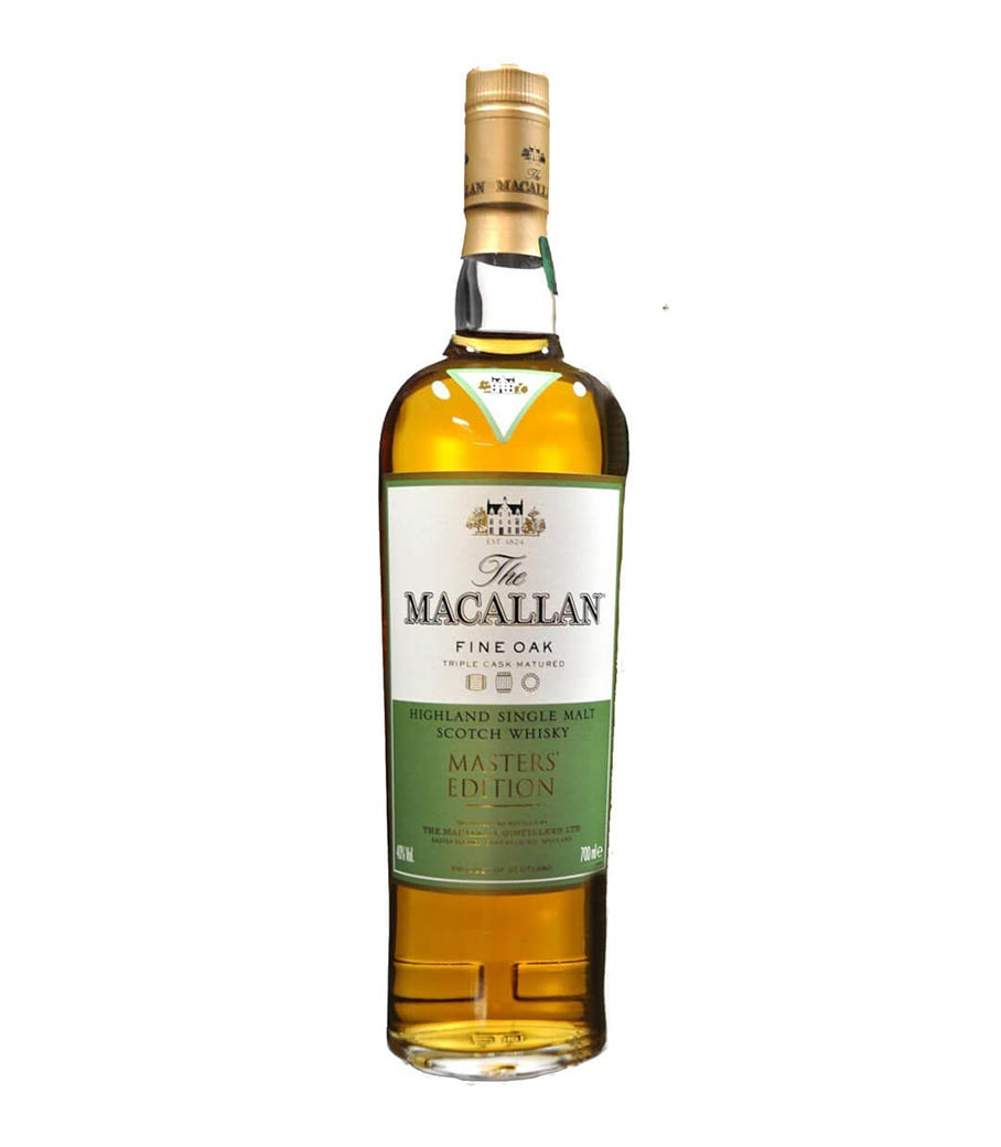 MACALLAN MASTERS EDITION FINE OAK WHISKY 700ml