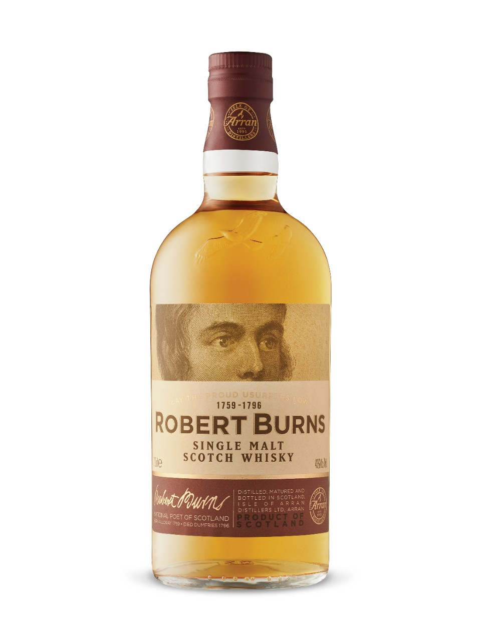 ARRAN ROBERT BURNS SINGLE MALT 700ml