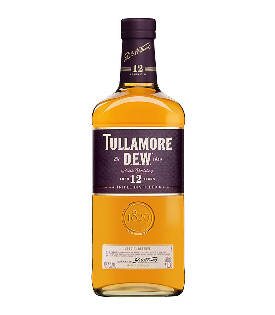 TULLAMORE DEW 12 YEARS IRISH WHISKY 700ml