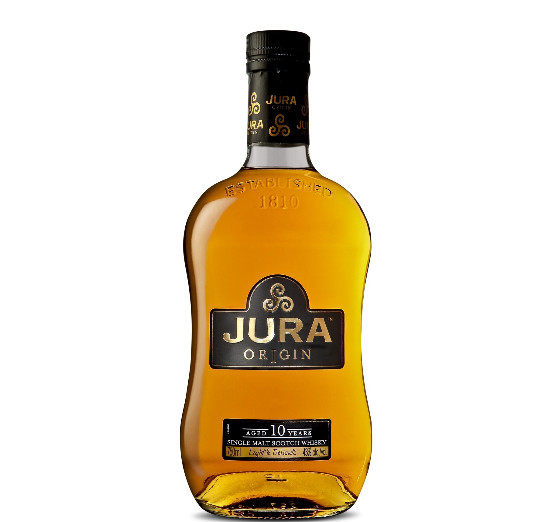 JURA  ISLE ORIGIN 10 YEARS 700ml