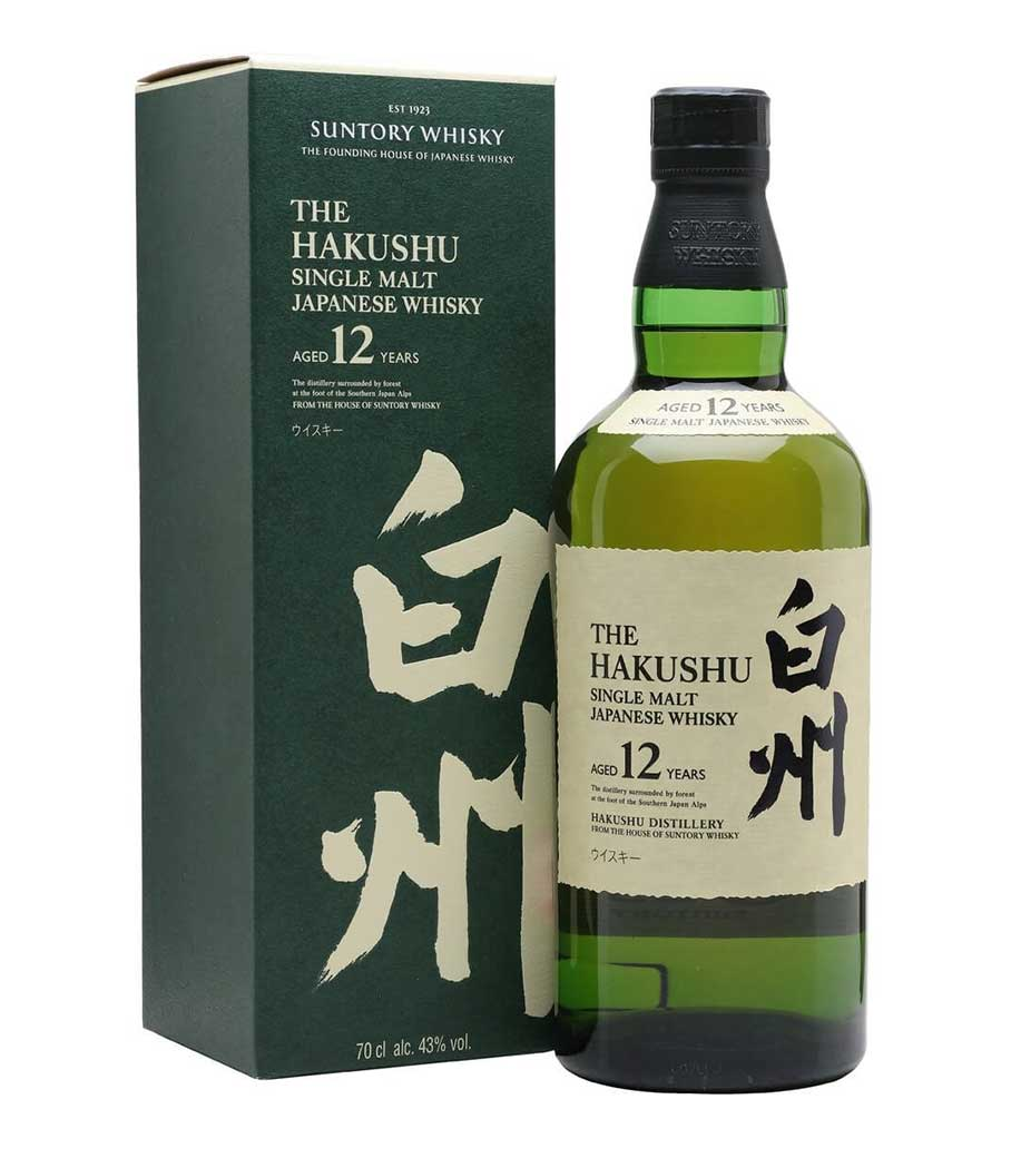 SUNTORY HAKUSHU 12 YEARS 700ml