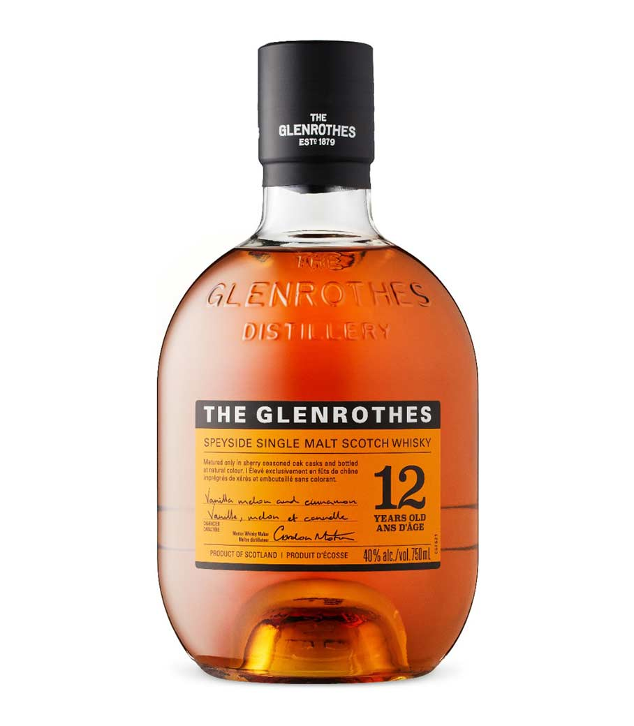 GLENROTHES 12Y WHISKY 700ml