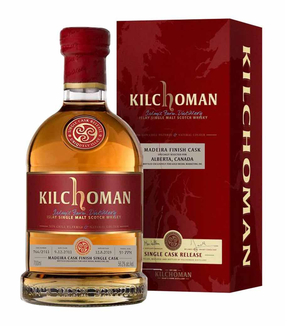 KILCHOMAN SINGLE CASK 183/2012 700ml