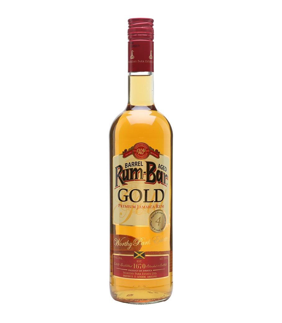 RUMBAR GOLD 4Y RUM 700ml